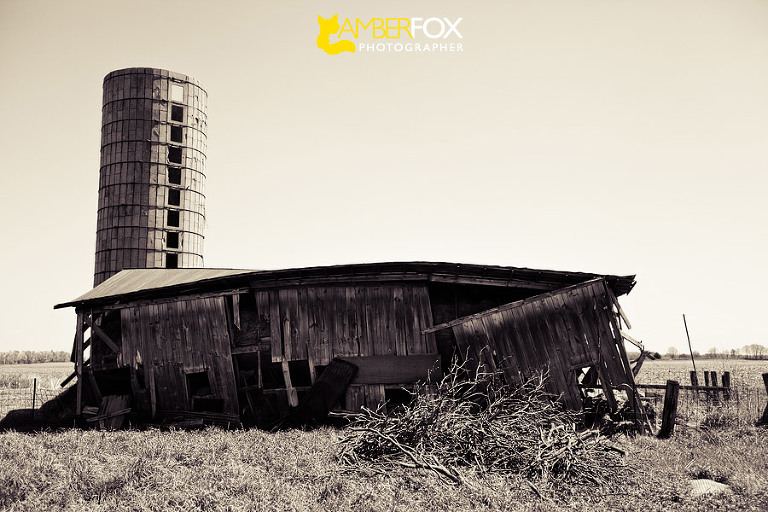 Old Barns in the Midwest, Amber Fox Photographer