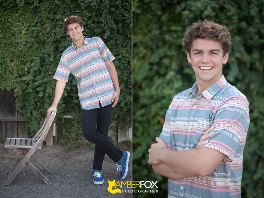 Amber Fox Photographer, La Serna Senior Portraits, Max McCollum, Class of 2014