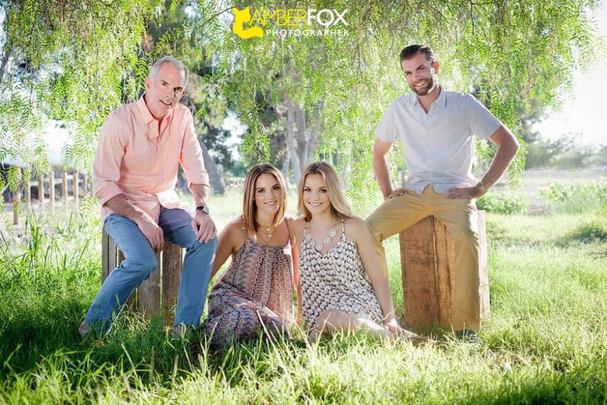 Amber Fox Photographer, Fullerton Family Portraits, The Sattler Family