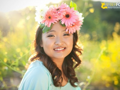 Amber Fox Photographer, Orange County Senior Portraits, Troy High School, Julie Hong